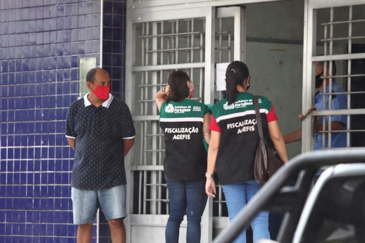 Agefis realizou ao todo 220 fiscalizações durante o final de semana (Foto: FABIO LIMA)
