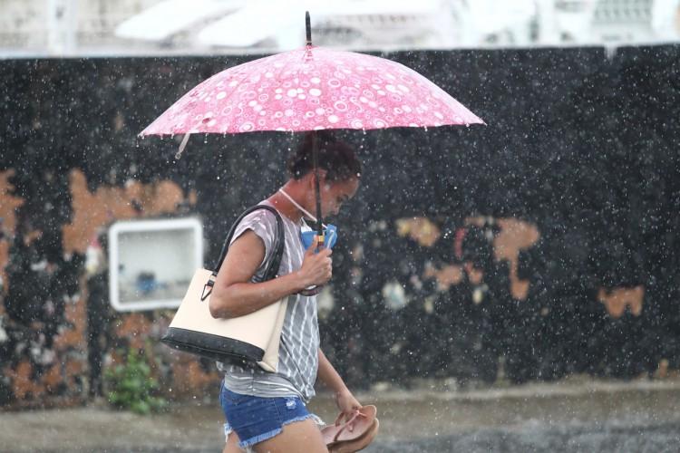 Cariri alcança média de chuvas durante a quadra chuvosa de 2021 (Foto: FABIO LIMA)
