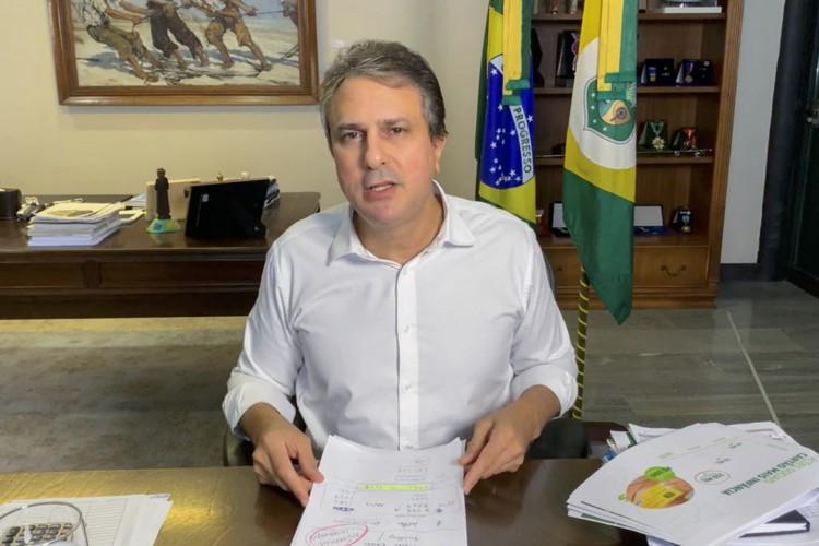 Camilo Santana, governador (Foto: Reprodução)