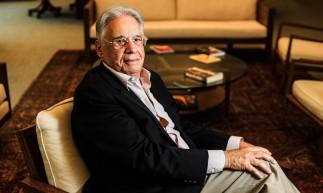 Brasil, São Paulo, SP, 18/04/2018. Retrato do ex-presidente do Brasil, Fernando Henrique Cardoso (FHC) durante entrevista IFHC em São Paulo. - Crédito:GABRIELA BILÓ/ESTADÃO CONTEÚDO/AE