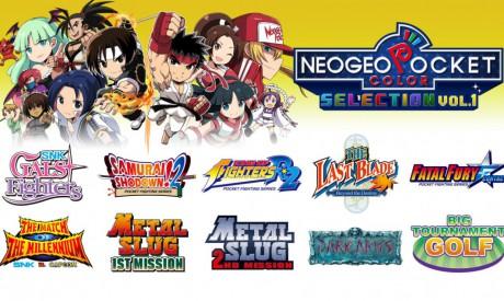 NeoGeo Pocket Color Selection Vol.1 está disponível exclusivamente para o Nintendo Switch