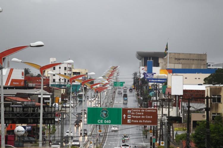 Ceará registrou apenas 38% do que se espera de chuvas para o mês de abril (Foto: FABIO LIMA)