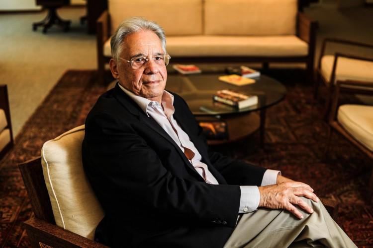 Brasil, São Paulo, SP, 18/04/2018. Retrato do ex-presidente do Brasil, Fernando Henrique Cardoso (FHC) durante entrevista IFHC em São Paulo. - Crédito:GABRIELA BILÓ/ESTADÃO CONTEÚDO/AE (Foto: GABRIELA BILO / AE)