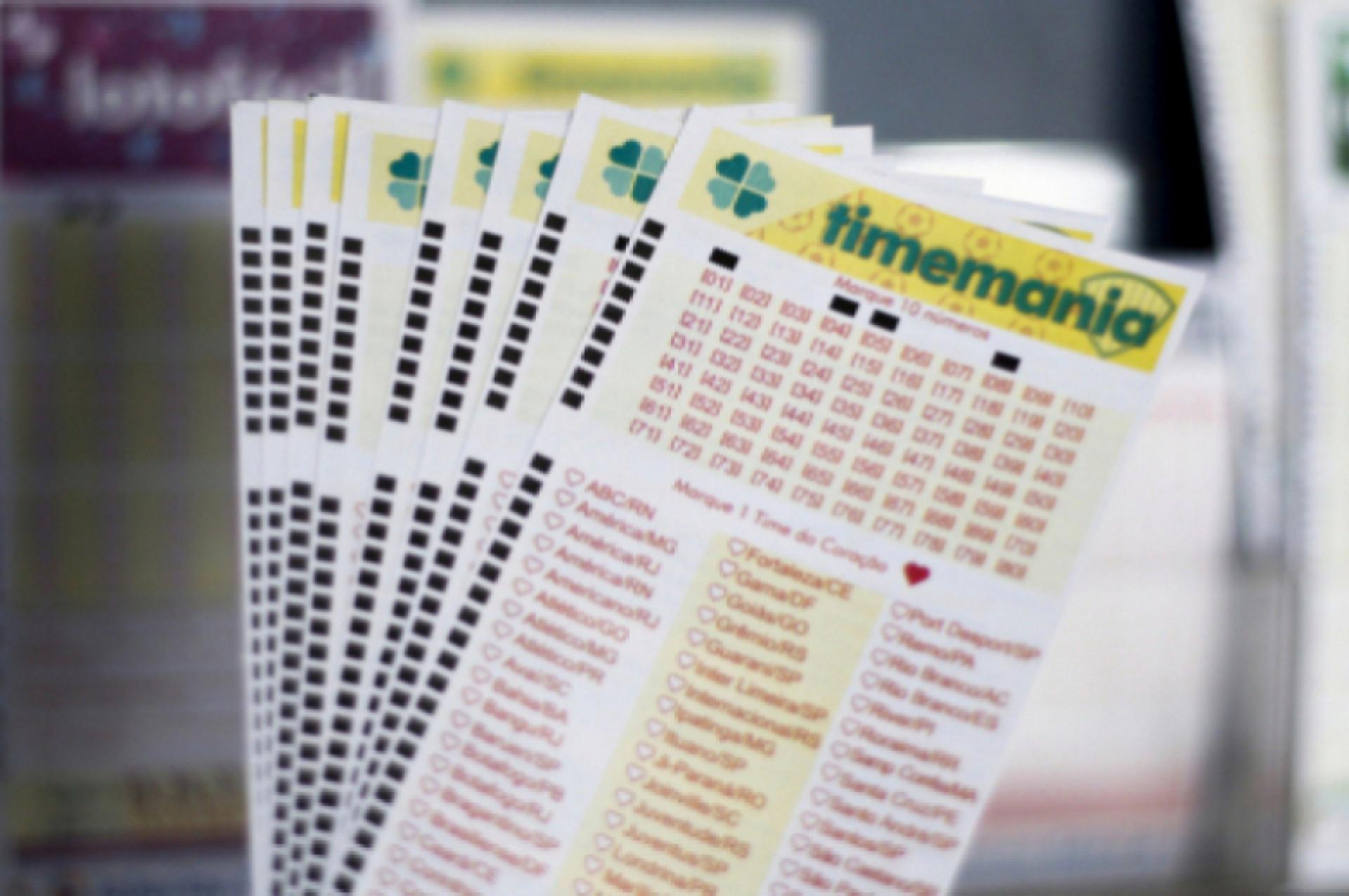 O resultado da Timemania de hoje, Concurso 1617, foi divulgado na noite de hoje, quinta-feira, 25 de março (25/03). O prêmio está estimado em R$ 800 mil (Foto: Deísa Garcêz em 27.12.2019)