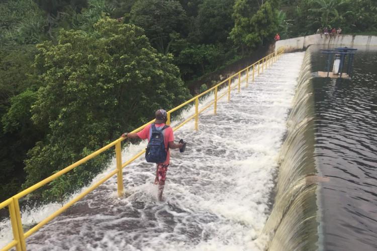 Batiruté registrou 38 milímetros de chuva nas últimas 24h (Foto: Breno Wermesson)