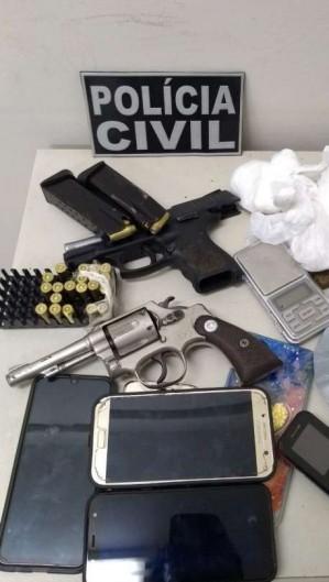 Investigações a Polícia Civil resultaram na prisão de 10 pessoas por tráfico de drogas (Foto: Foto: SSPDS)