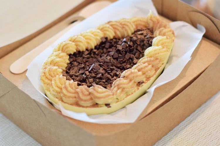 A Torta Búlgaro faz sucesso entre os clientes do Cabaña Del Primo.
