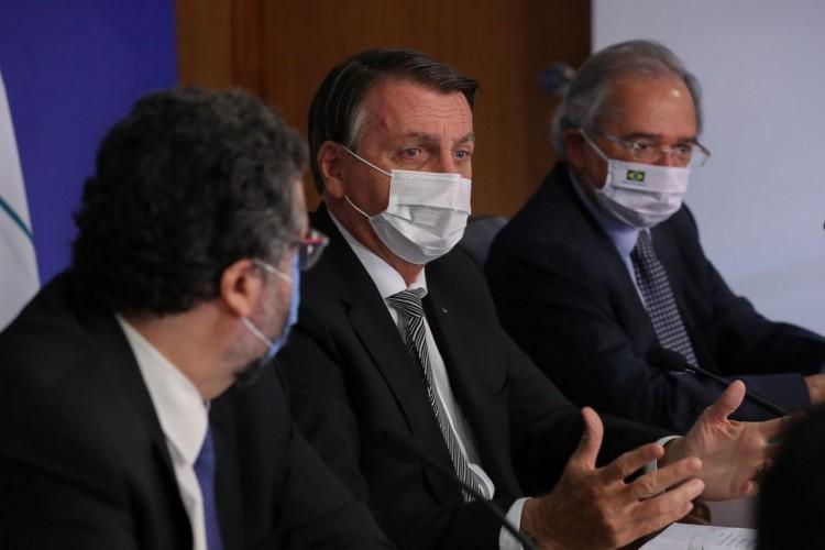 (Brasília - DF, 26/03/2021)  - Reunião de Cúpula do Mercosul - Aniversário de 30 anos do Tratado de Assunção (videoconferência) ..Fotos: Marcos Corrêa/PR (Foto: Marcos Correa)