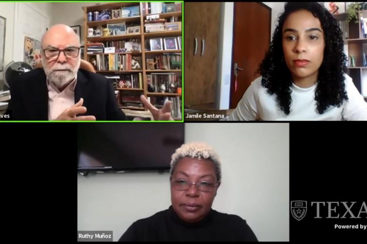 A Primeira Conferência Latino-americana sobre Diversidade no Jornalismo teve início nesta sexta-feira, 26. (Foto: Reprodução/ YouTube)