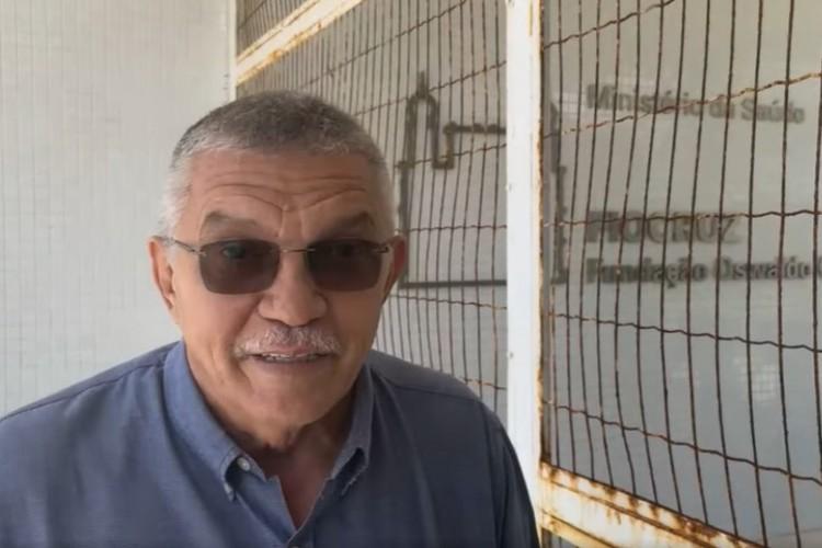 Fundação Oswaldo Cruz (Fiocruz) no Ceará desmente deputado estadual Delegado Cavalcante (PSL) sobre fabricação de vacinas.  (Foto: Reprodução/Facebook)