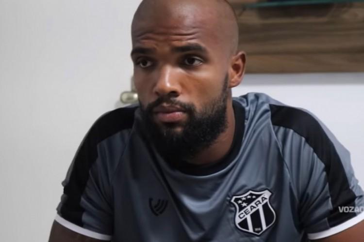 Messias foi o 11º contratado do Ceará para a temporada 2021 (Foto: Vozão TV/Reprodução)