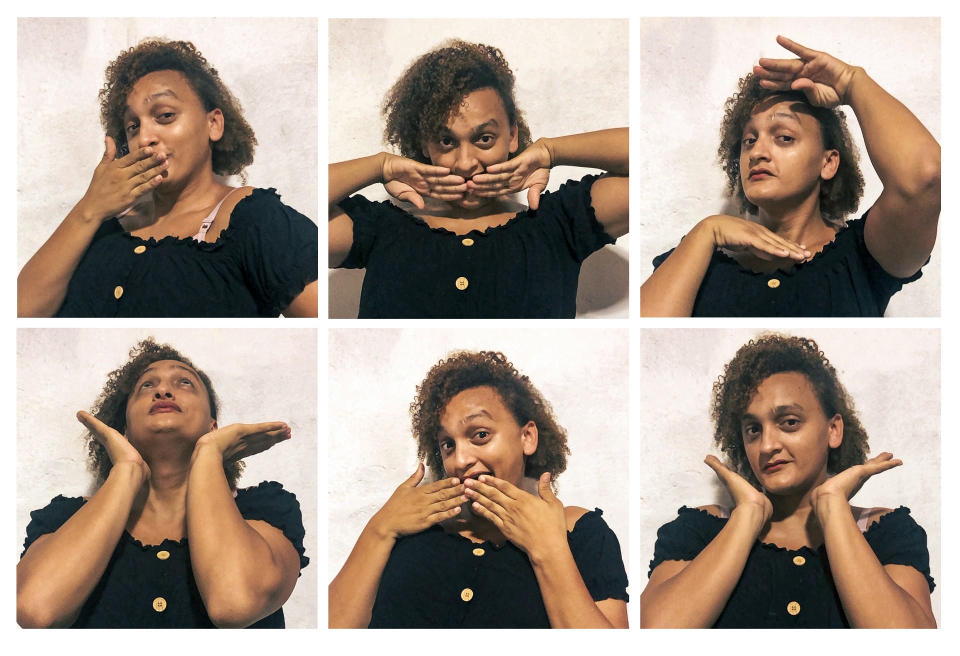 FORTALEZA, CE, BRASIL, 26.03.2021: Faela Maya, cearense de Jaguaribe, autora da WebNovela