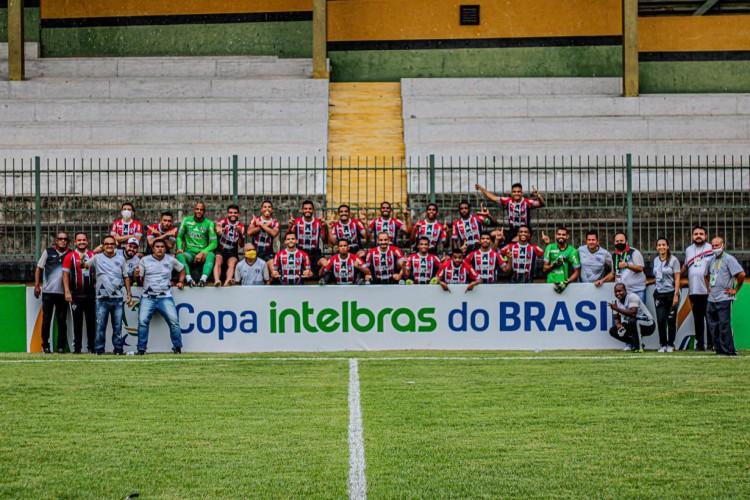 Erro da arbitragem eliminou o Ferroviário e fez o clube perder R$ 1,7 milhão de cota de avanço  (Foto: Lenilson Santos/Ferroviário)