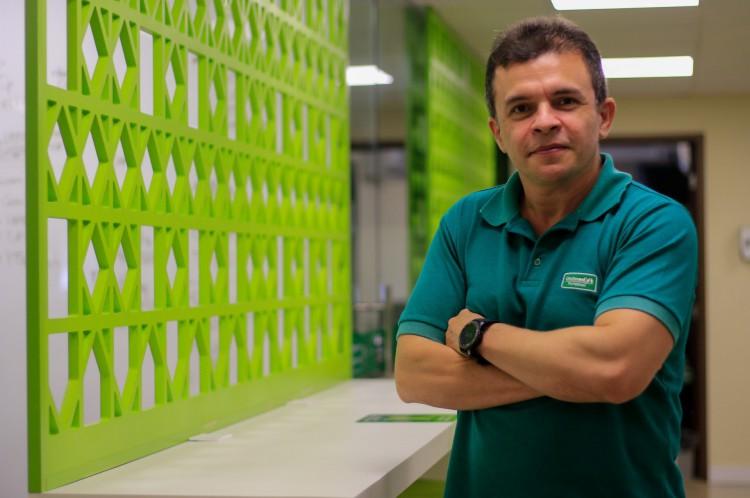 Elias Leite, presidente da Unimed Fortaleza(Foto: BARBARA MOIRA)