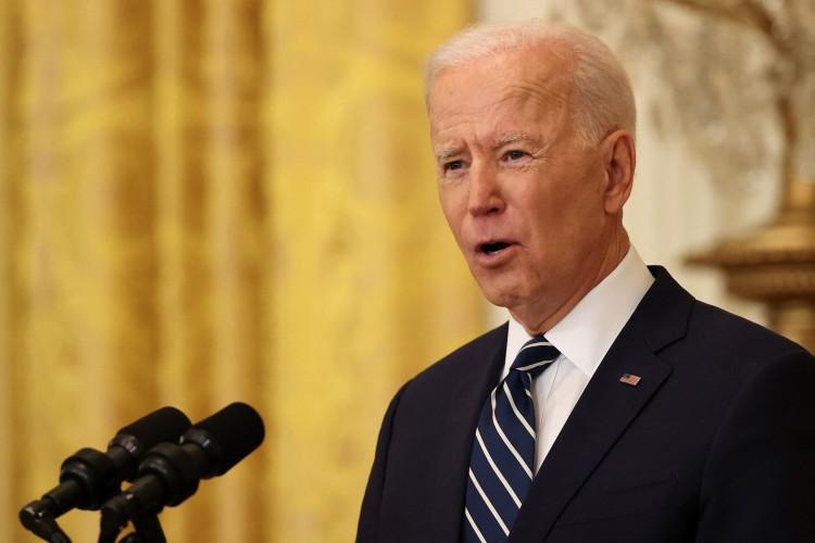 Presidente dos EUA Joe Biden  (Foto: CHIP SOMODEVILLA / AFP)