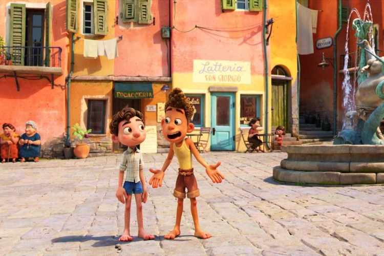 'Luca', dirigido por Enrico Casarosa, será lançado em junho (Foto: PIXAR/ WALT DISNEY STUDIOS)