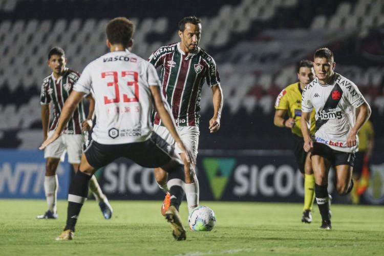 Vasco e Fluminense jogam hoje pelo Carioca 2021; você pode assistir à transmissão ao vivo pela TV e por pay-per-views (Foto: Lucas Mercon/ Fluminense)