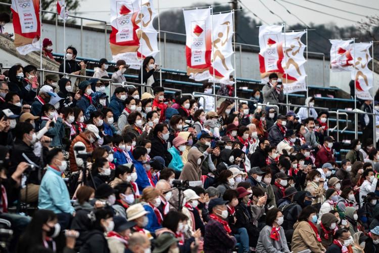 Olímpiadas de Tóquio terá presença de público composto apenas por residentes do Japão (Foto: Philip FONG / AFP)