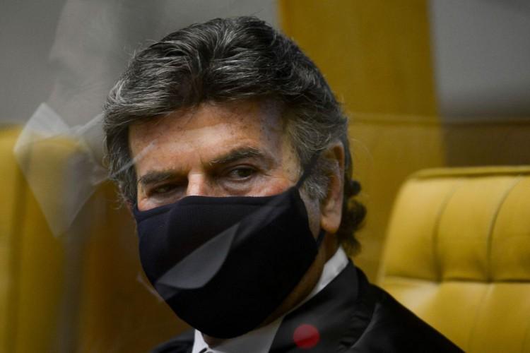 Cerimônia de posse do presidente do Supremo Tribunal Federal (STF), Luiz Fux. (Foto: Marcelo Camargo/Agência Brasil)