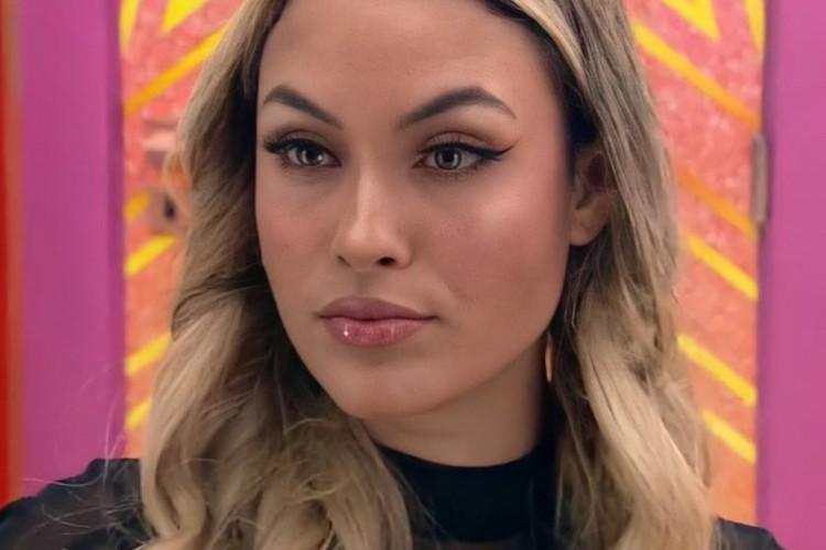 """Sarah Andrade é consultora de marketing digital e passou 10 semanas no """"BBB21"""" (Foto: Reprodução/TV Globo)"""