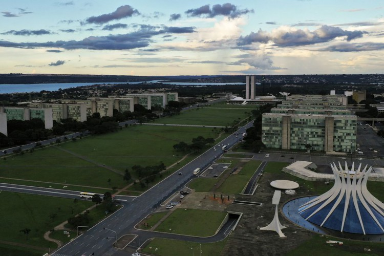 Brasília 60 Anos - Esplanada dos Ministérios (Foto: Marcello Casal JrAgência Brasil)
