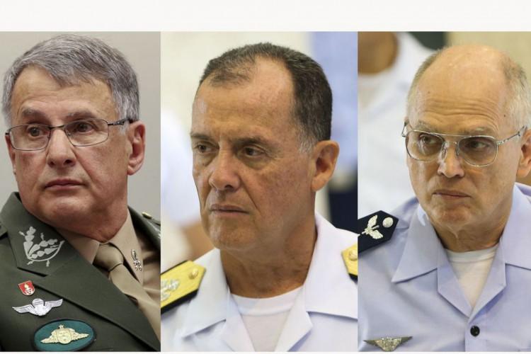 Comandantes Militares (Foto: Agência Brasil)