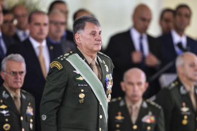 General Edson Leal Pujol durante solenidade de posse em 2019. (Foto: Valter Campanato/Agência Brasil)