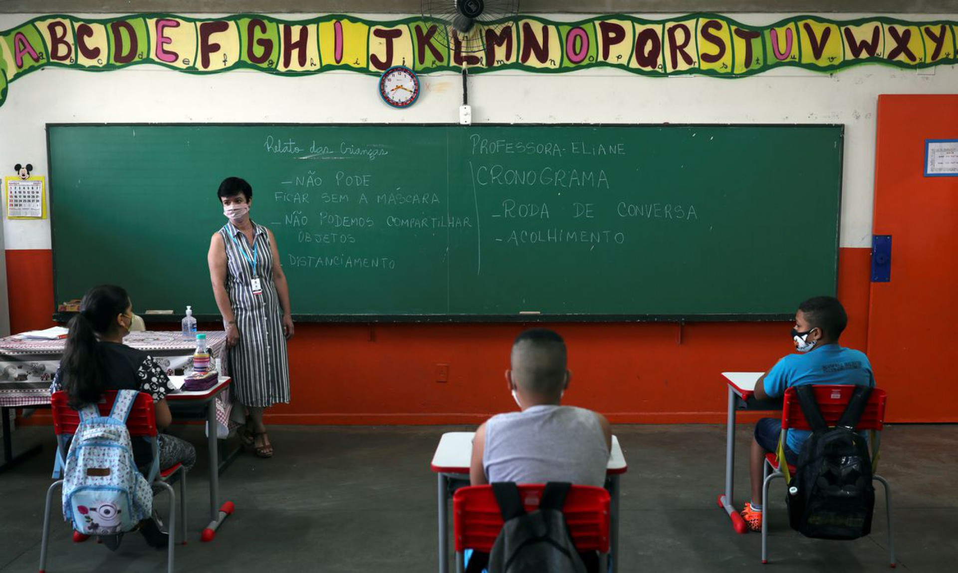 Movimento Escolas Abertas quer abertura logo no Ceará