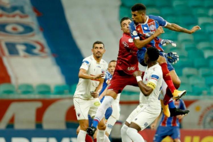 O Fortaleza tenta encerrar o tabu e vencer o Bahia na Copa do Nordeste (Foto: Felipe Oliveira / EC Bahia)