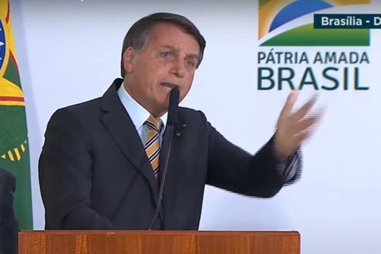 Bolsonaro diz que o Brasil precisaria deixar de ser um país de