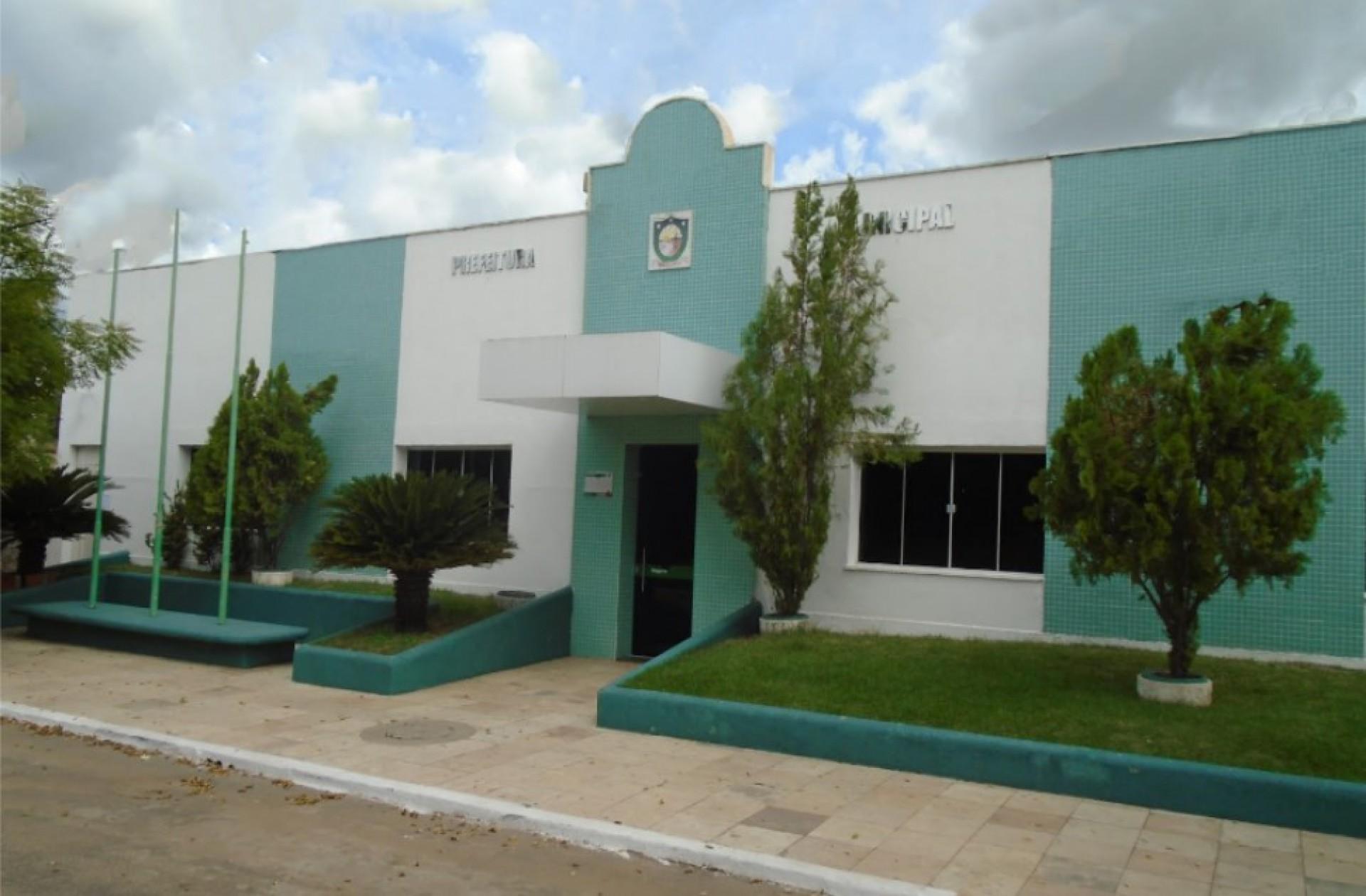 Prefeitura Municipal de Brejo Santo. (Foto: Reprodução/Google Street View)