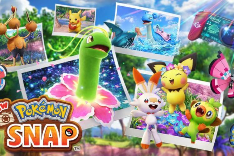 Jogo 'New Pokemon Snap'