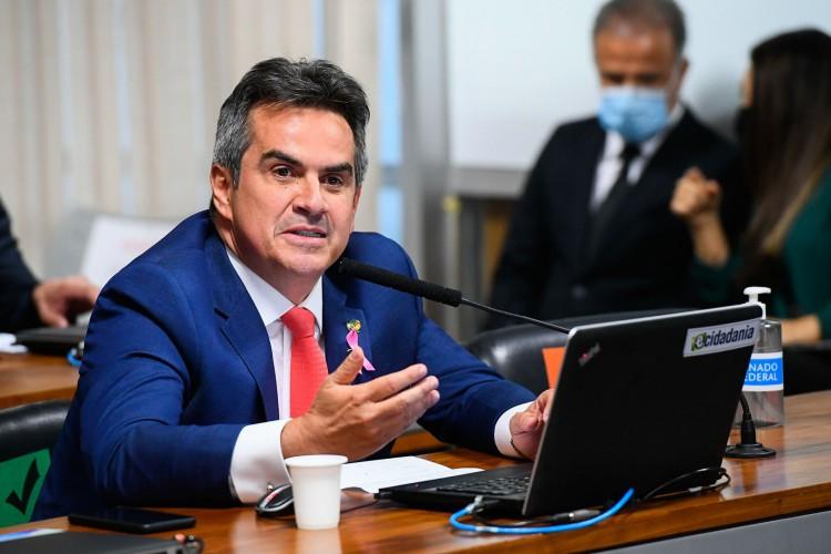 Brasilia em 21 de outubro de 2020,  bancada, em pronunciamento, senador Ciro Nogueira (PP-PI). (Foto: Marcos Oliveira/Agência Senado) (Foto: Marcos Oliveira/Agência Senado)