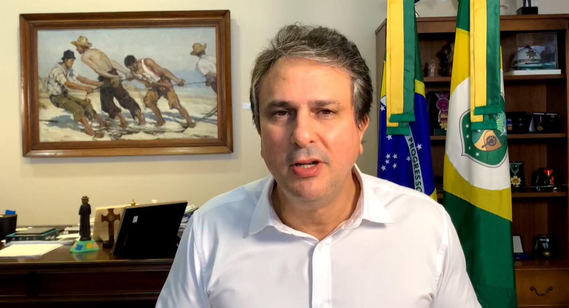 Camilo fez uma transmissão para anunciar medida (Foto: REPRODUÇÃO)