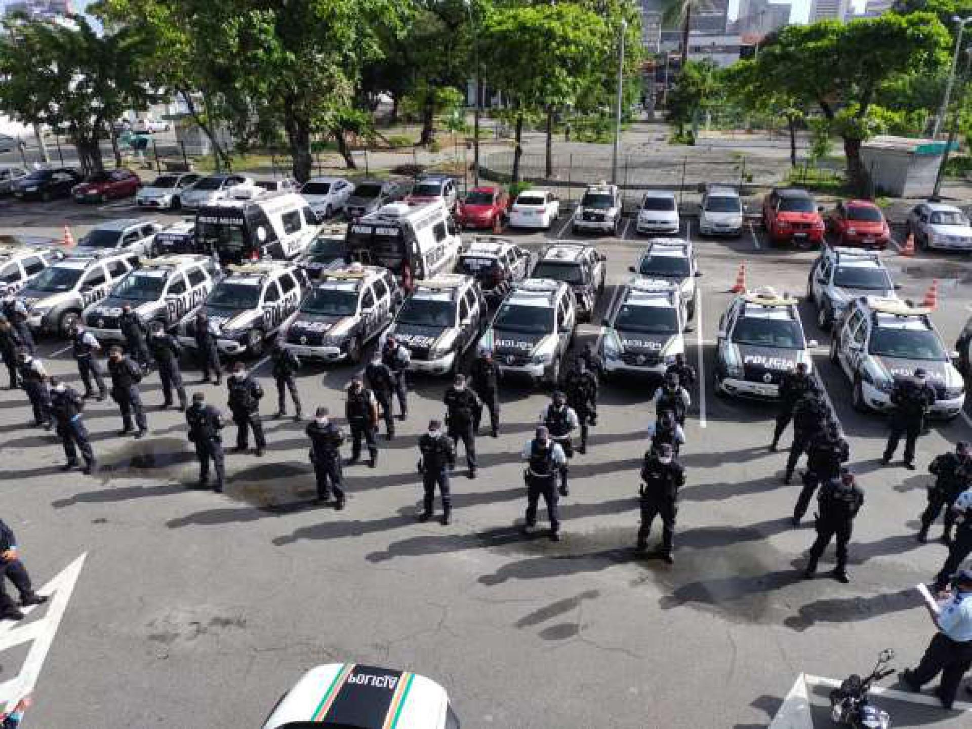 Policiais Militares do Ceará (Foto: Foto: Polícia Militar do Ceará)