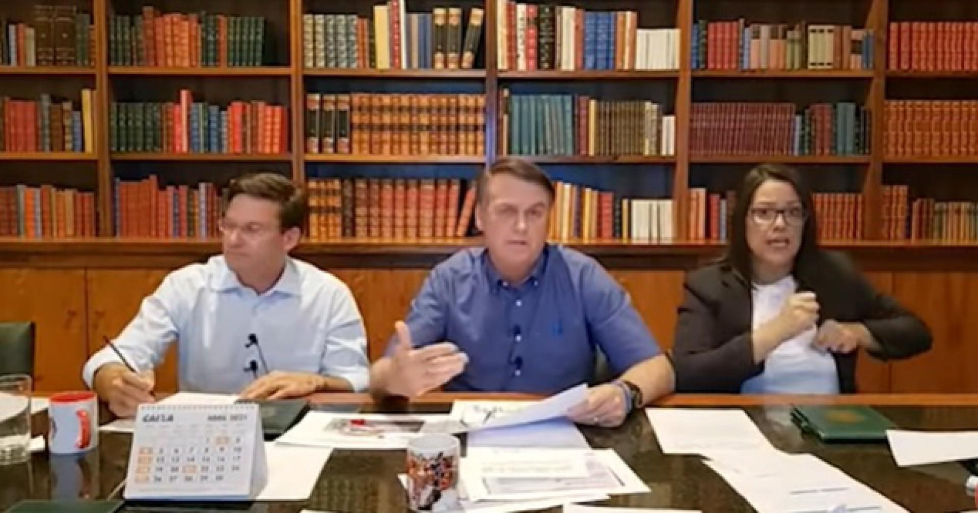 Jair Bolsonaro é presidente do Brasil