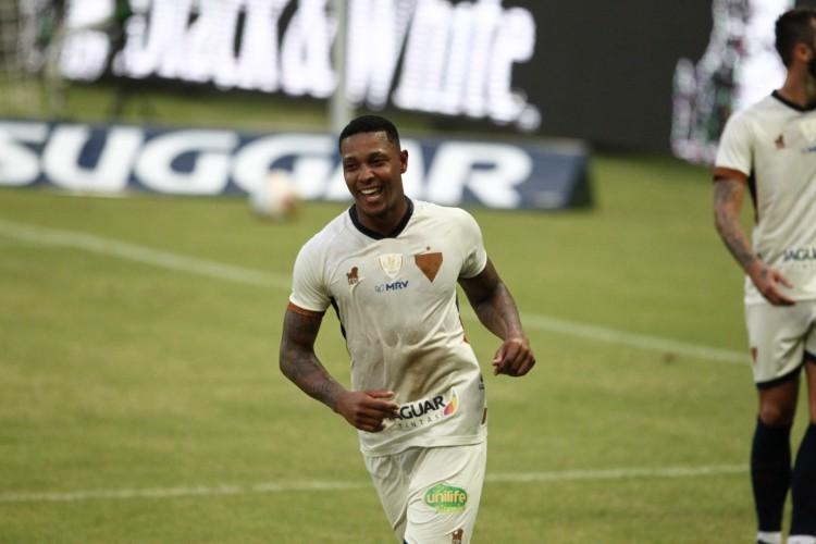 David é autor de três gols e três assistências em nove jogos do Fortaleza na temporada 2021 (Foto: FABIO LIMA)