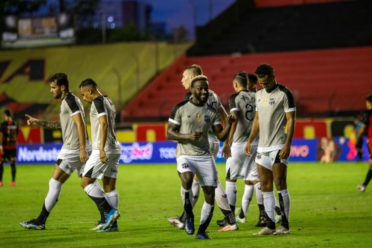 Ceará lidera quesitos ofensivos e defensivos na Copa do Nordeste (Foto: Fausto Filho/Ceará SC)