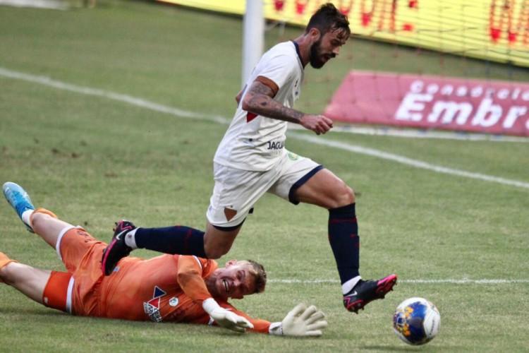 Destaque do Fortaleza contra o Bahia, Matheus Vargas ressaltou a dificuldade do duelo com o Ypiranga (Foto: Fábio Lima/O POVO)