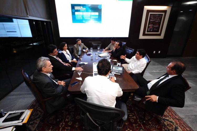 Criado em maço de 2020, o Comitê reúne 25 diferentes entidades e órgãos cearenses (Foto: Governo Estadual do Ceará / Divulgação)