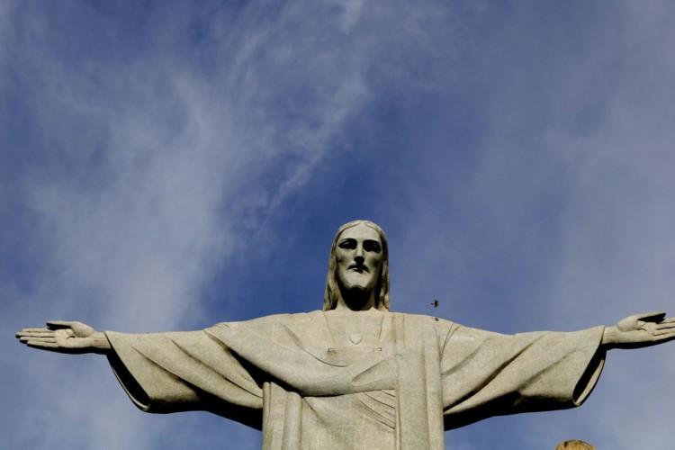 Lançamento oficial da Festa dos 90 anos do Cristo Redentor, no morro do Corcovado, Rio de Janeiro. (Foto: Tânia Rêgo/Agência Brasil)