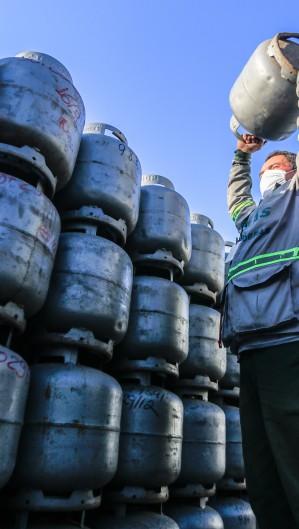 O gás de cozinha é encontrado no Ceará com valores entre R$ 77,99 e R$ 100, segundo a ANP (Foto: Barbara Moira)