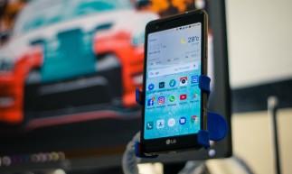 A LG figura entre as três maiores marcas de smartphones no Brasil.