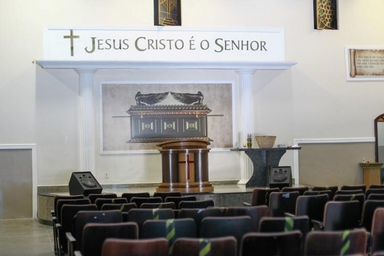 FORTALEZA,CE, BRASIL, 05.04.2021: Movimentação nas igrejas evangélicas após decisão de ministro do STF que permite cultos.  (Fotos: Fabio Lima/O POVO). (Foto: Fabio Lima)