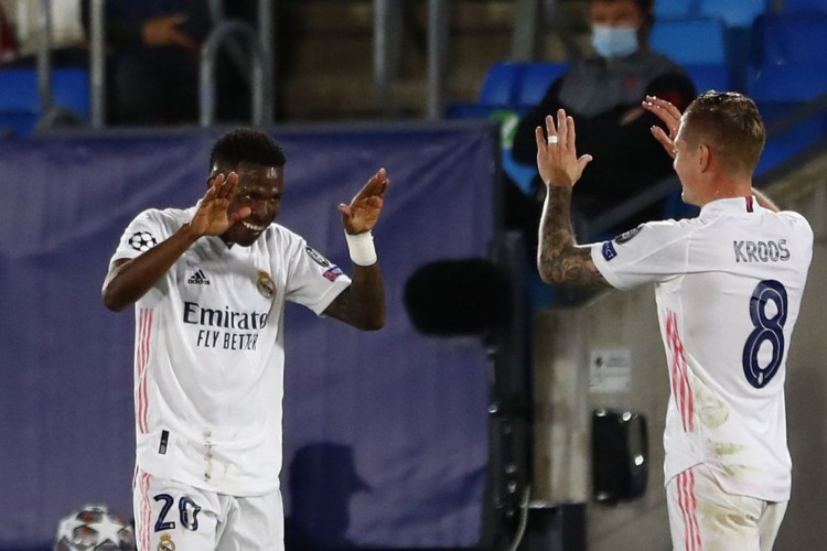 Liga dos Campeões: Vinícius Júnior brilha e Real derrota Liverpool (Foto: )