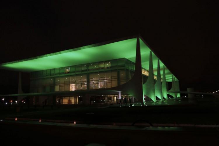 Brasília 60 anos - Palácio do Planalto (Foto: Marcello Casal JrAgência Brasil)