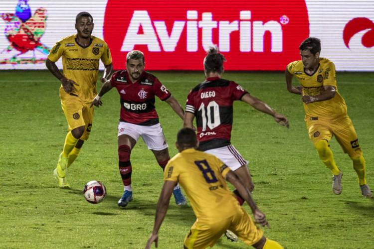 Flamengo goleia o Madureira por 5 a 1 no Campeonato Carioca (Foto: Marcelo Cortes / Flamengo)