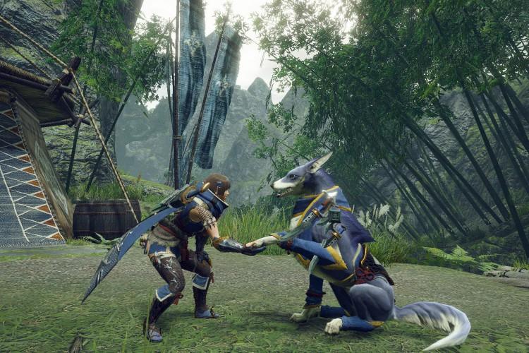 O game 'Monster Hunter Rise' chegou ao Nintendo Switch em março deste ano (Foto: Divulgação)