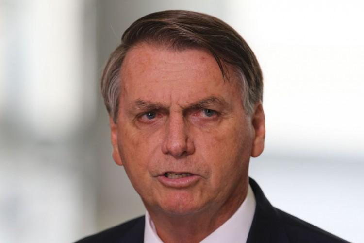 O presidente Jair Bolsonaro faz declaração à imprensa (Foto: /Agência Brasil)