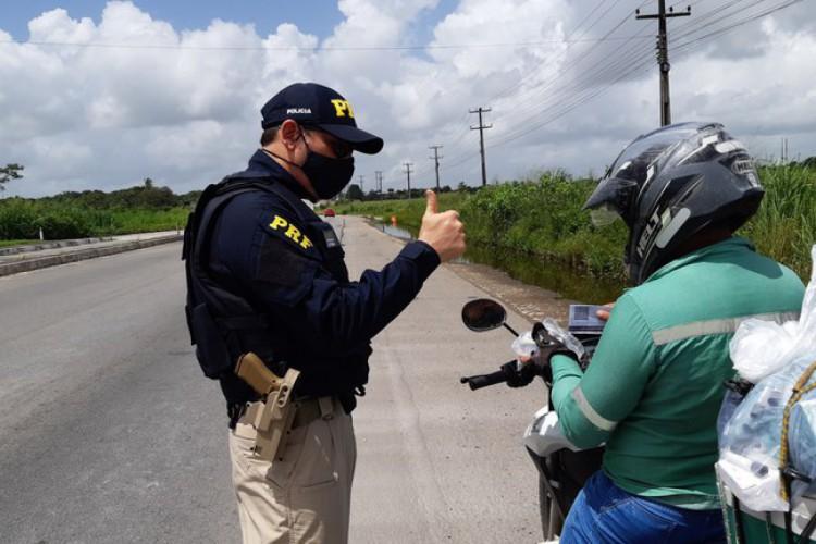 Polícia Rodoviária Estadual informou que nenhuma morte foi registrada nas rodovias federais que cortam o Ceará (Foto: Foto: Polícia Rodoviária Federal)